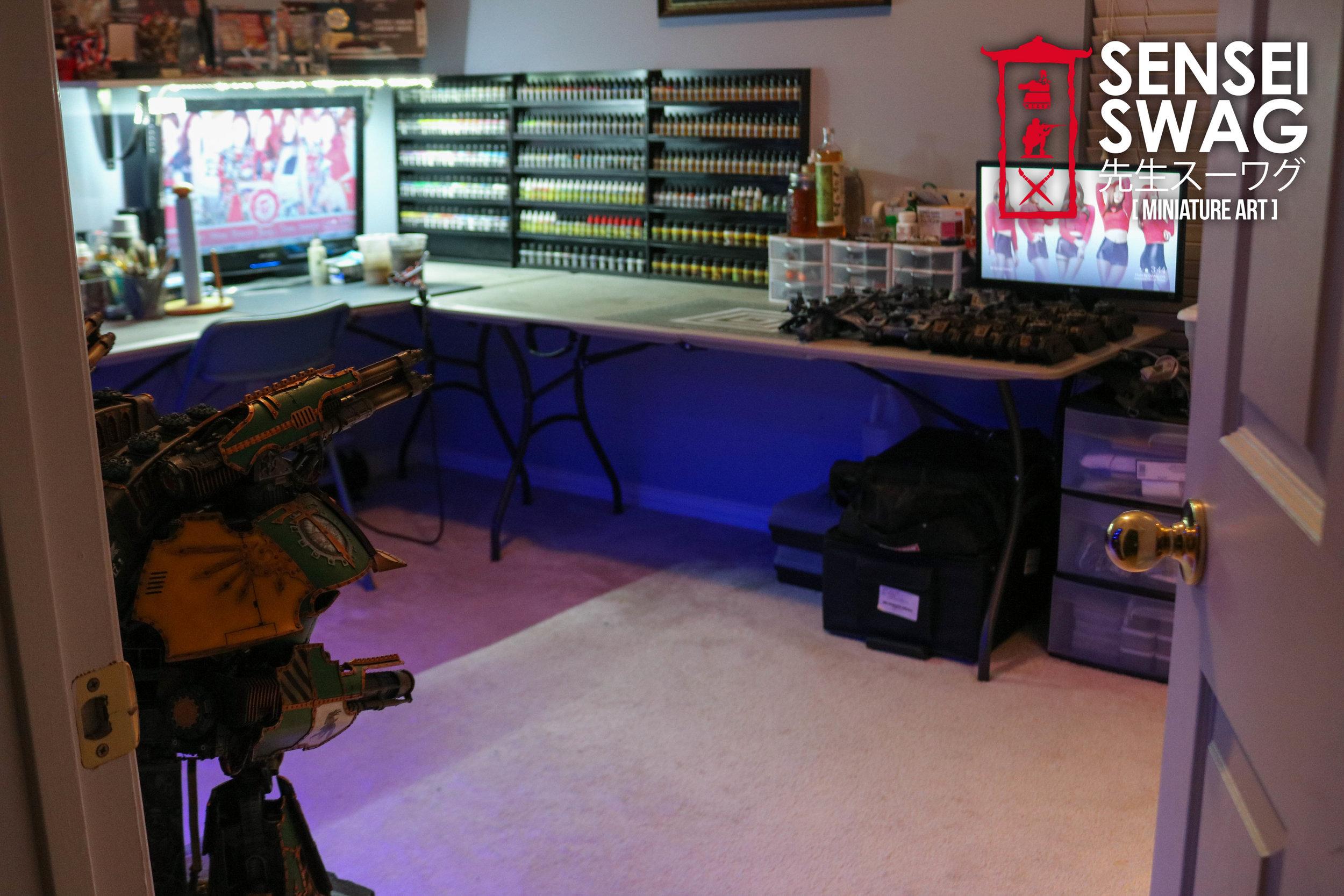 Warhammer Painting Studio Room Game Mancave Art Station Paint Rack-4.jpg