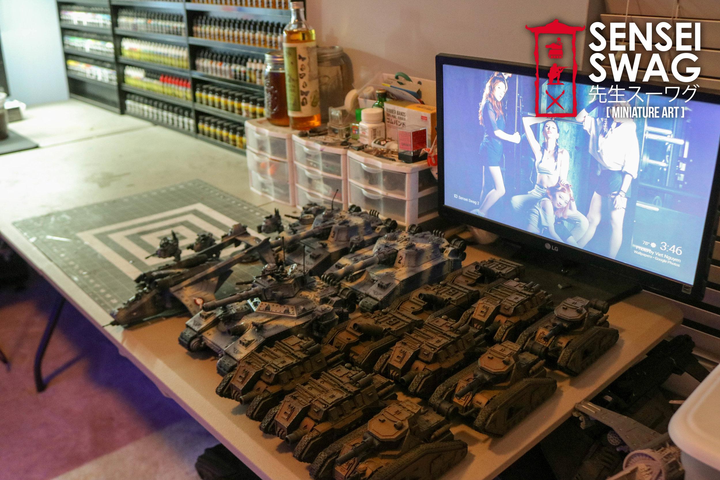 Warhammer Painting Studio Room Game Mancave Art Station Paint Rack-8.jpg