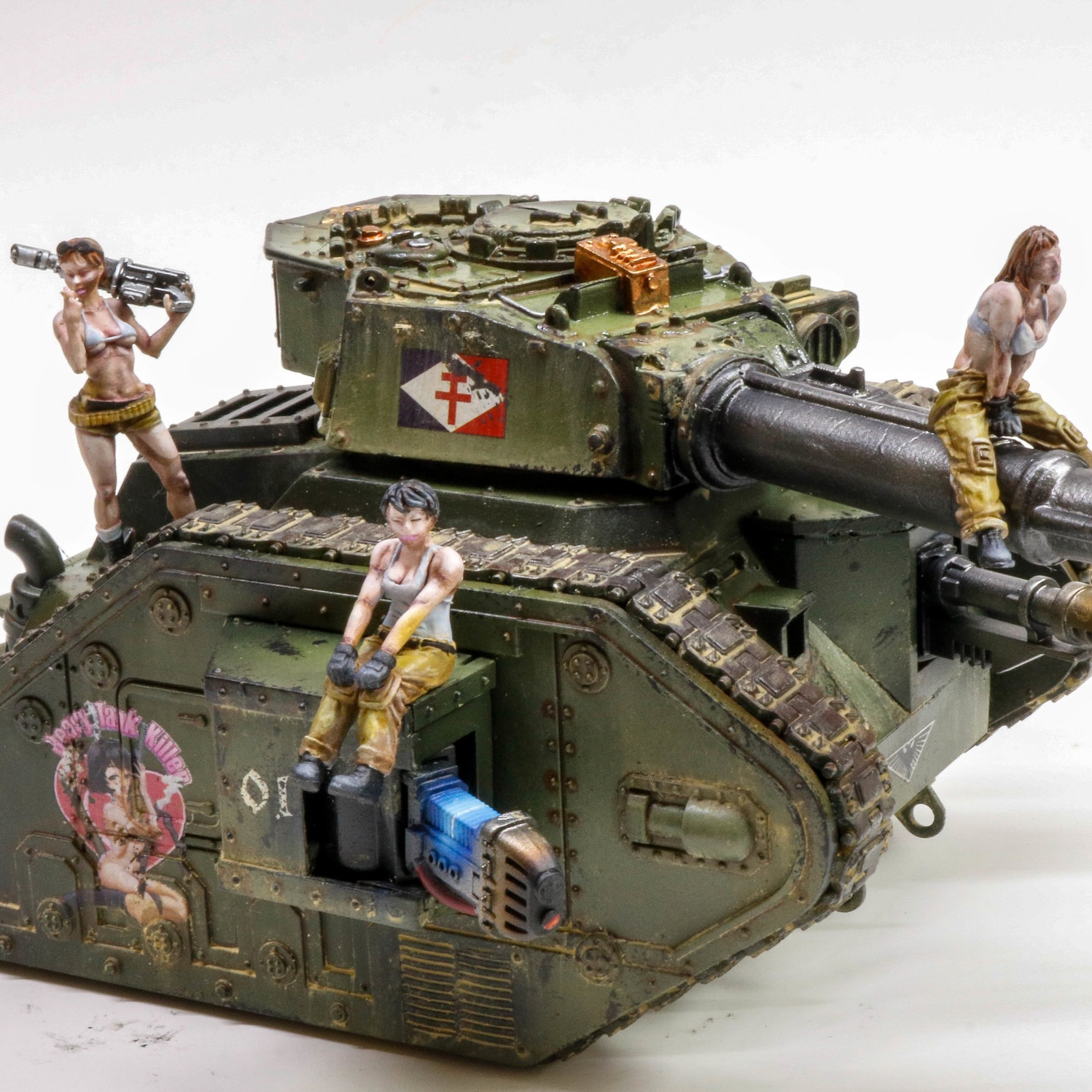 PIN UP GIRL IMPERIAL GUARD