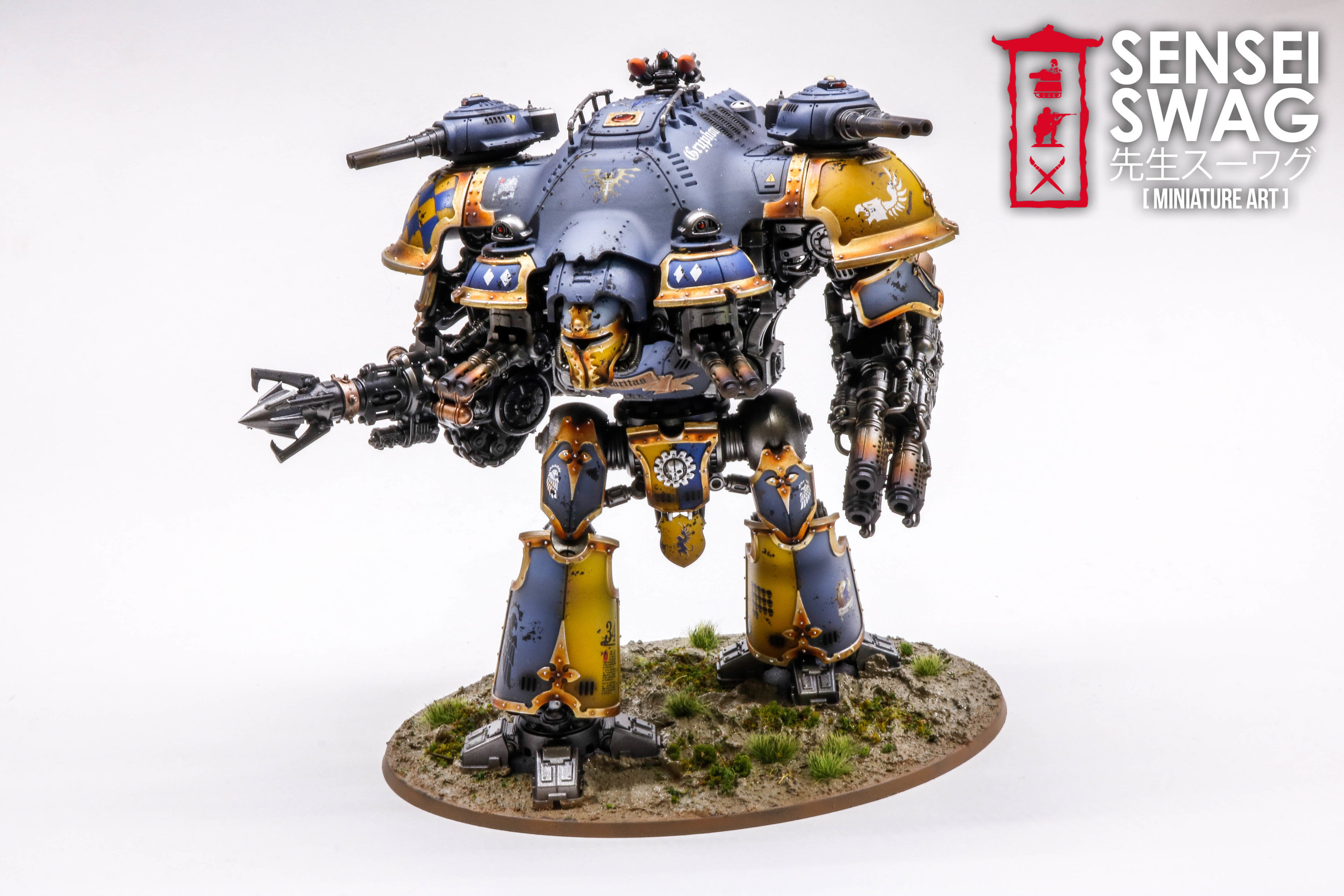 House Coldshroud Imperial Knight Valiant Legio Gryphonicus Armiger Warden Preceptor-2.jpg