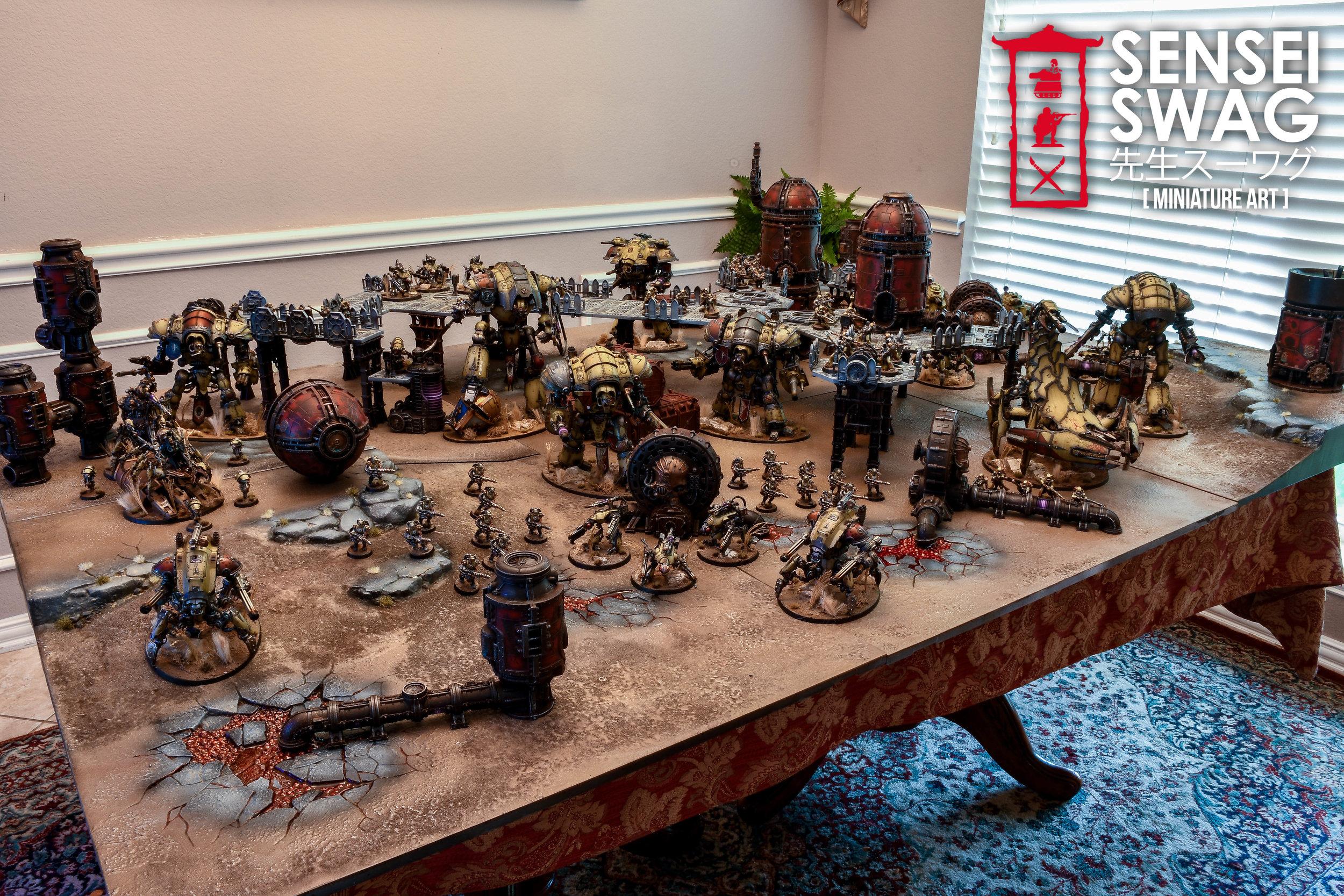 40k Sector Mechanicus Desert Game Board Table Terrain -1.jpg