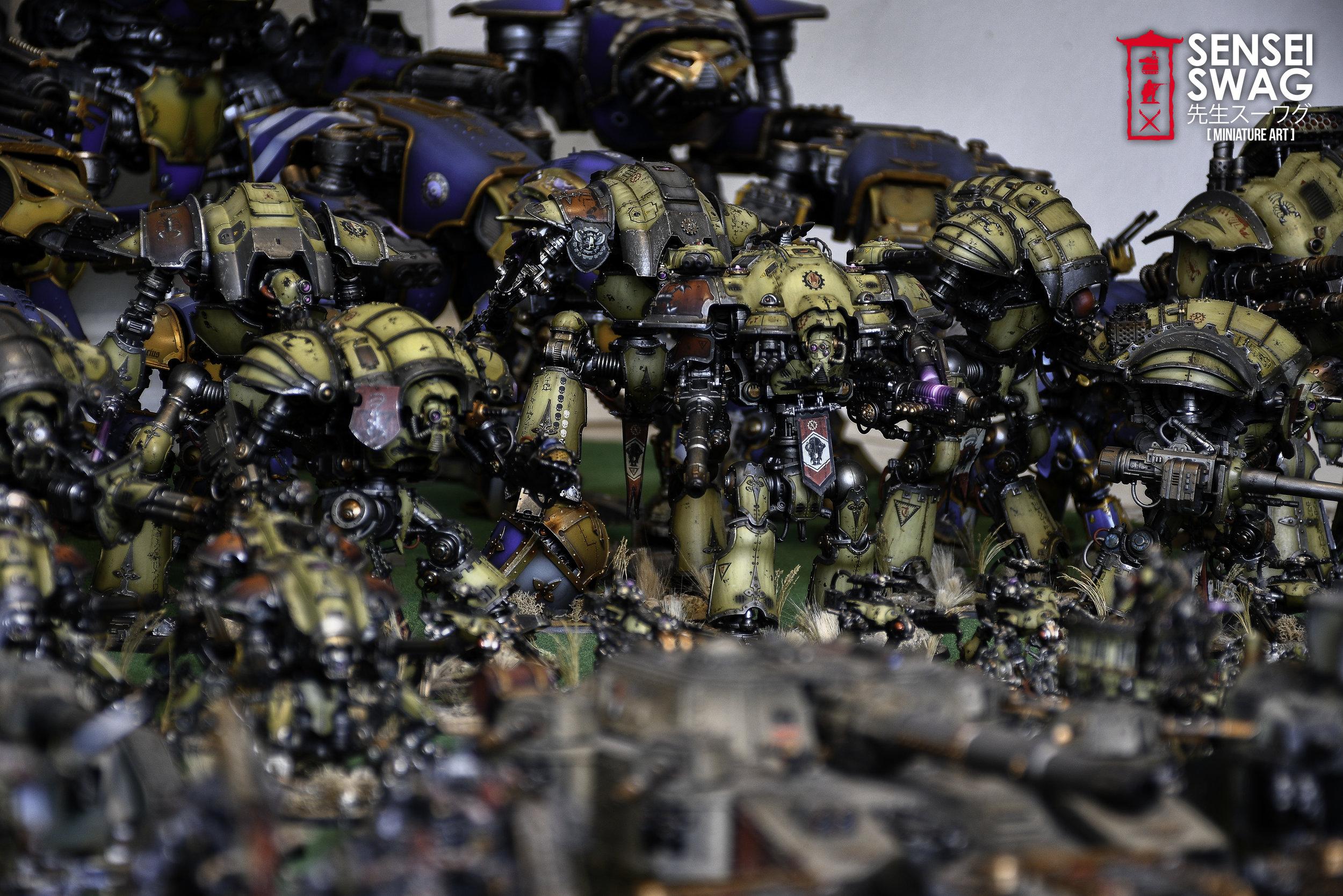 Biggest 40k Apocalypse Army Warlord Titan Maniple-5.jpg