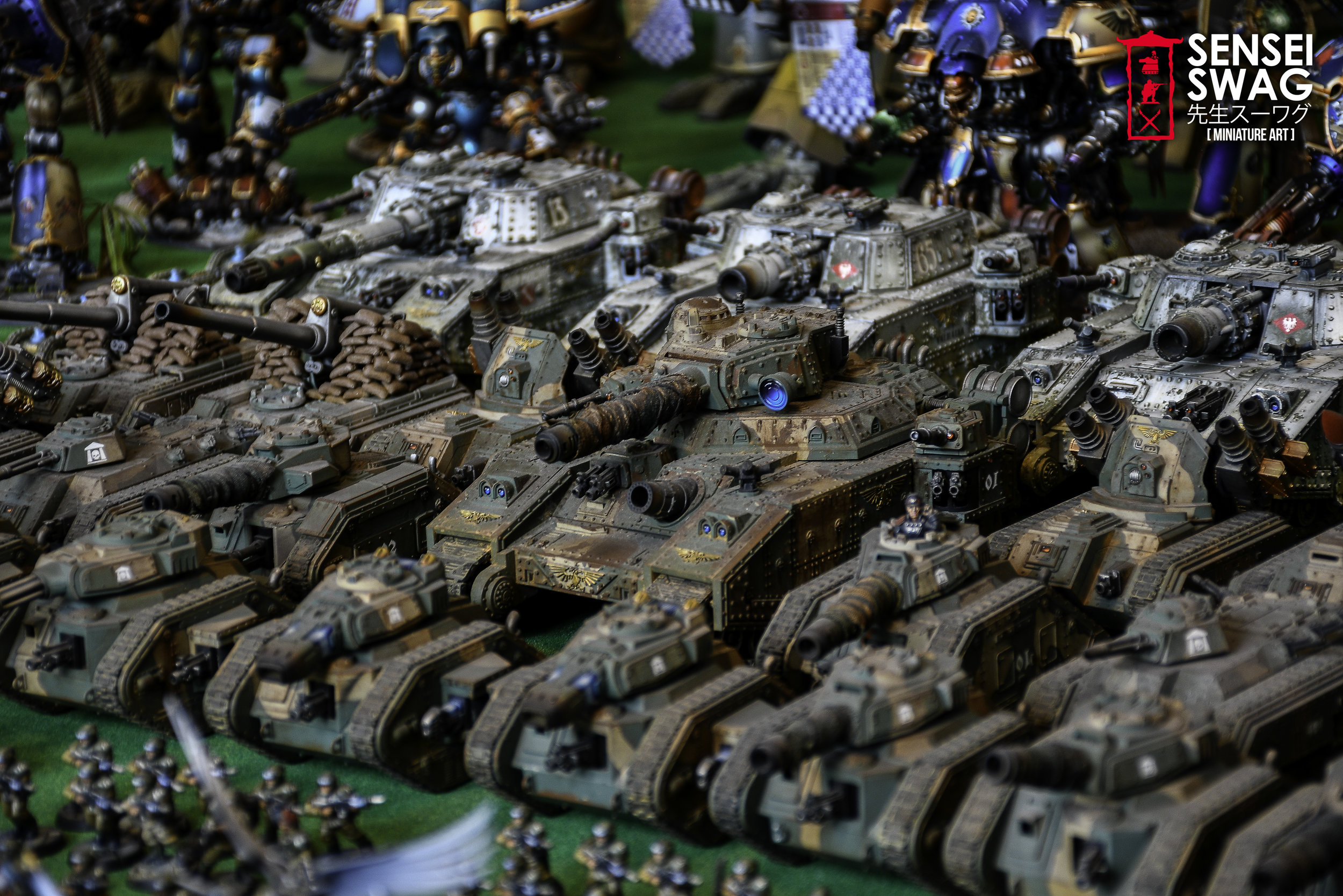 Biggest 40k Apocalypse Army Warlord Titan Maniple-6.jpg