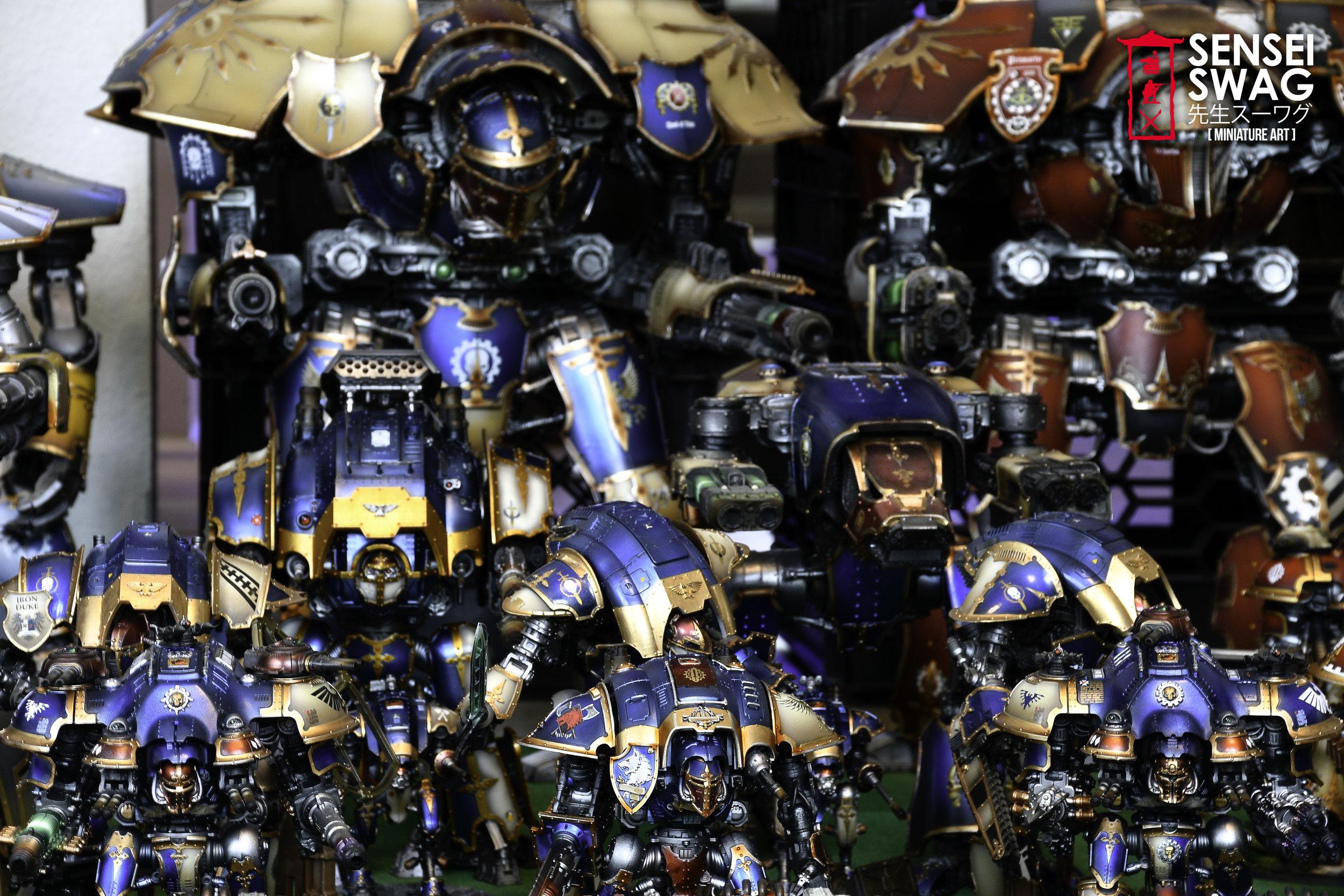 Biggest 40k Apocalypse Army Warlord Titan Maniple-8.jpg
