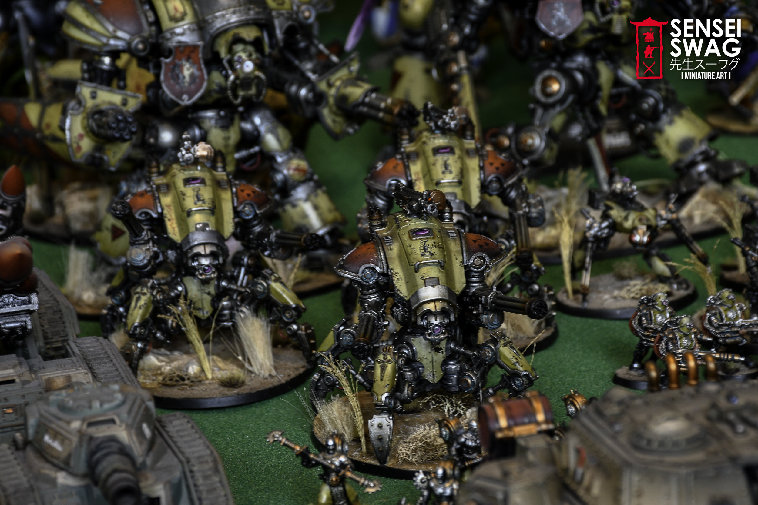 World's Largest 40k Army? — Sensei Swag