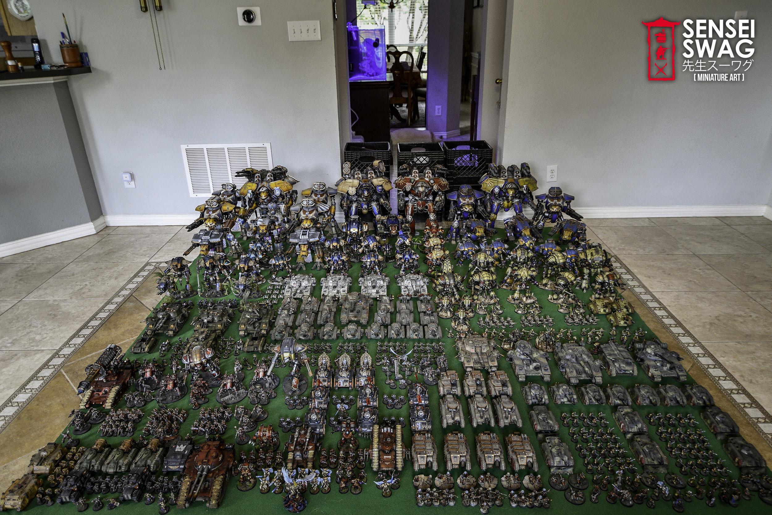 Biggest 40k Apocalypse Army Warlord Titan Maniple-1.jpg