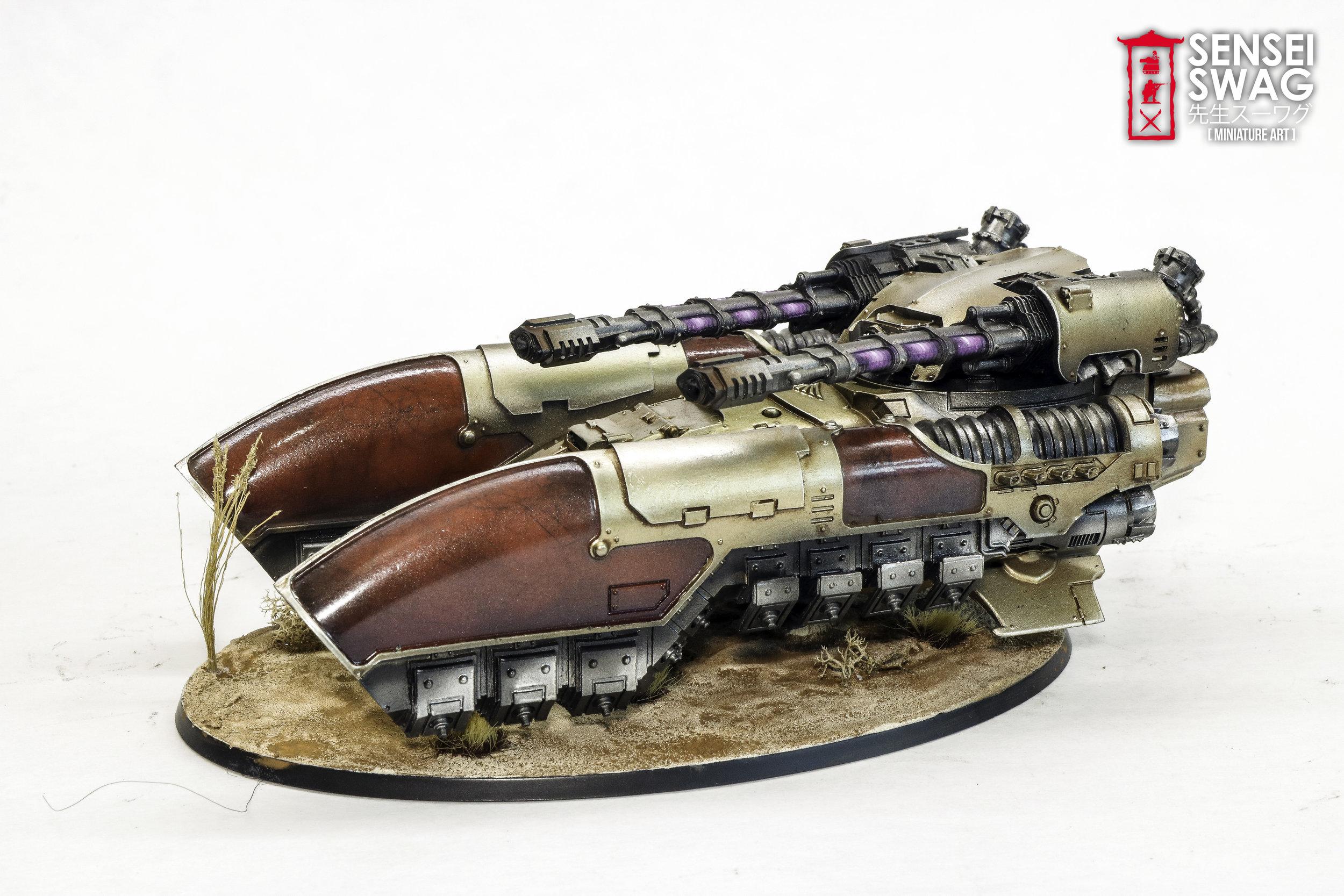 Adeptus Custodes Caladius Grav Tank Marble-4.jpg