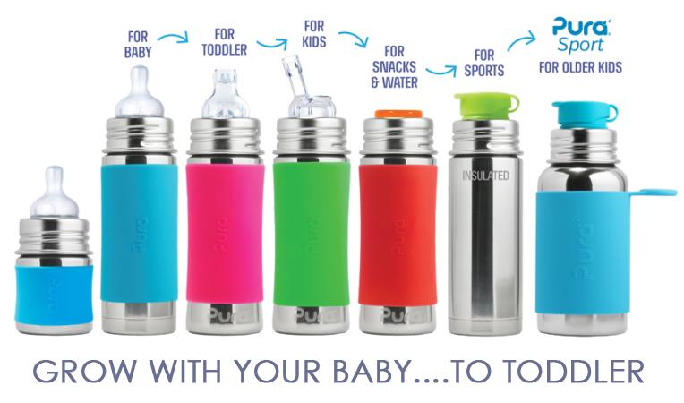Pura - Stainless Bottles