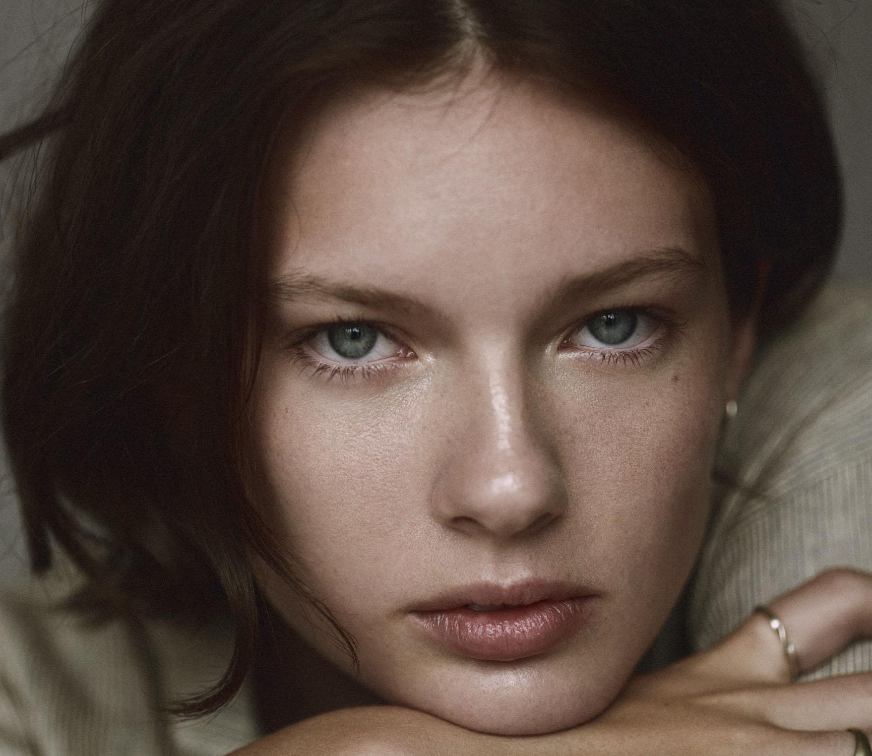 Makeup for Sophia of Freedom Models