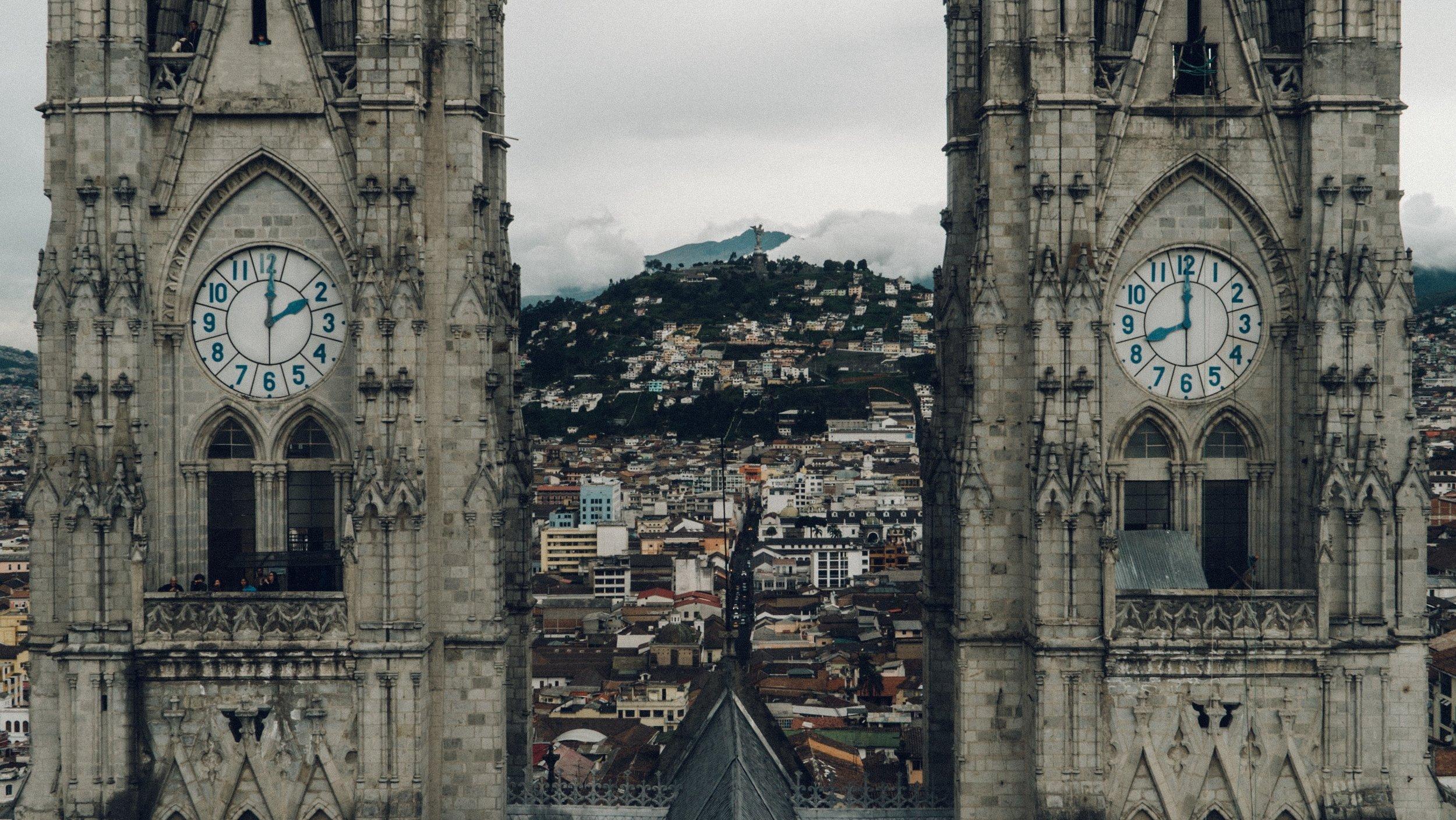 Basilica de Voto Nacional, Quito  Photo by  Chandler Hilken  on  Unsplash