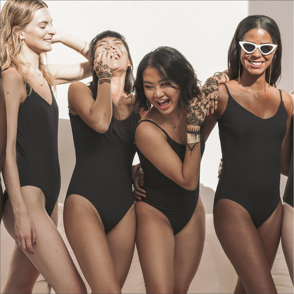 SUMMERSALT    |  Summersalt creates designer swimwear that fits your body and your budget. They also promote sustainability using recycled textiles for their products.