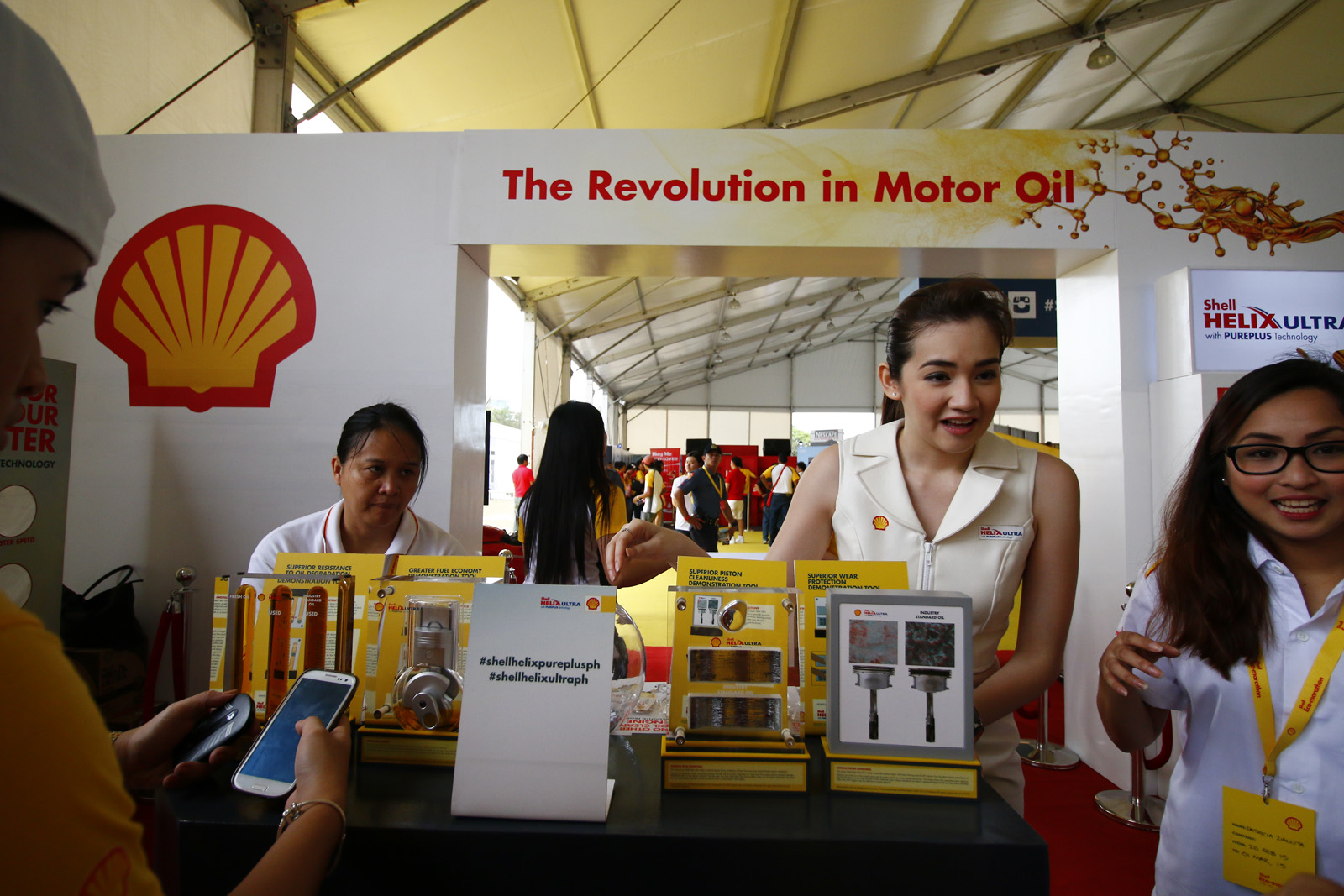 Shell Fuel Your Drive Booth