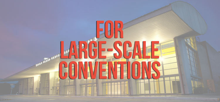 Large-Scale Conventions