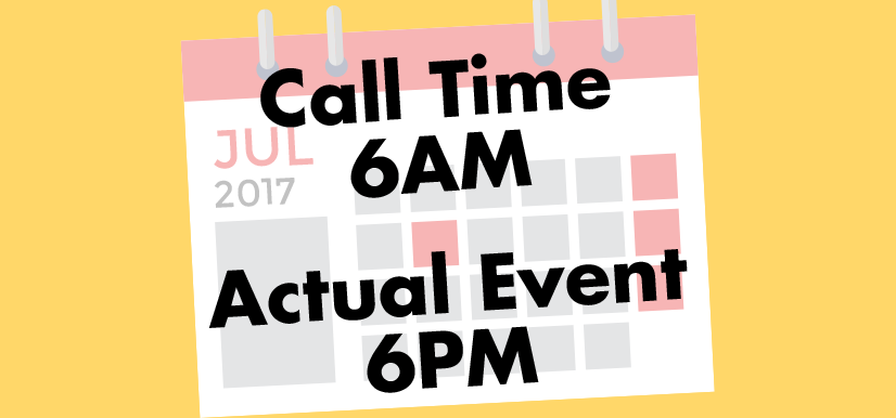 Early Call Times
