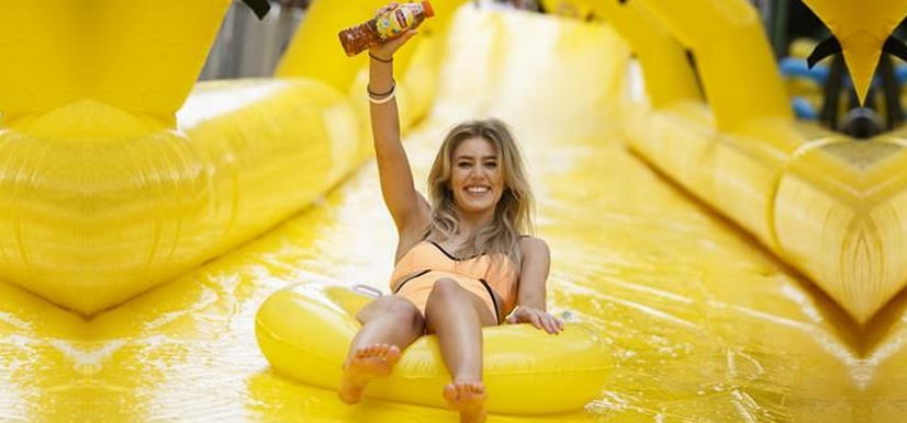 Urban Water Slide | The Activation