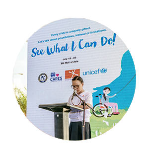 UNICEF – See What I Can Do!