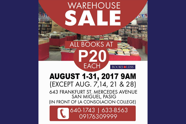 Books-For-Less-Warehouse-Sale-2017