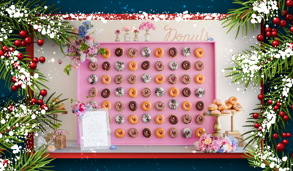 Photo from https://www.today.com/food/how-make-doughnut-wall-t108188