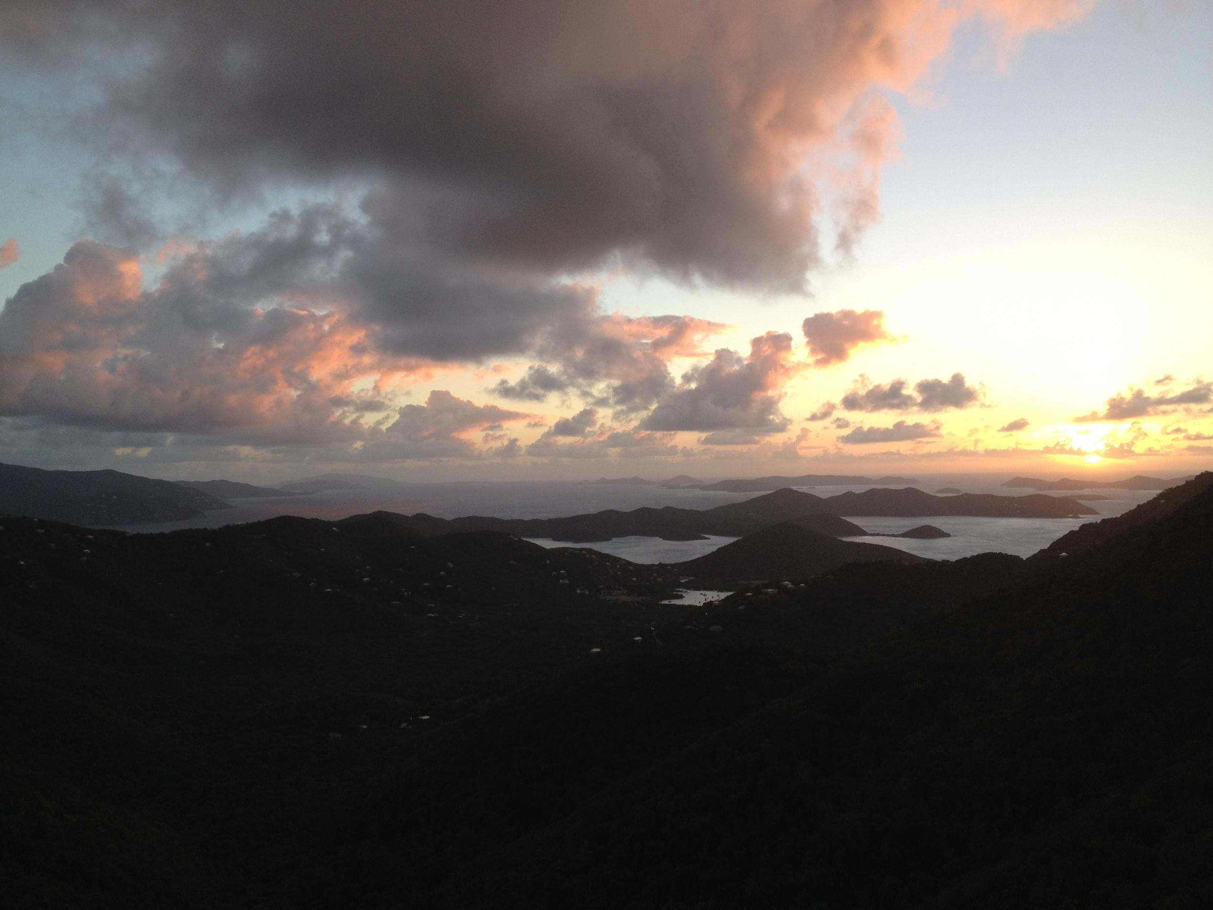 Sunrise at Drake's View