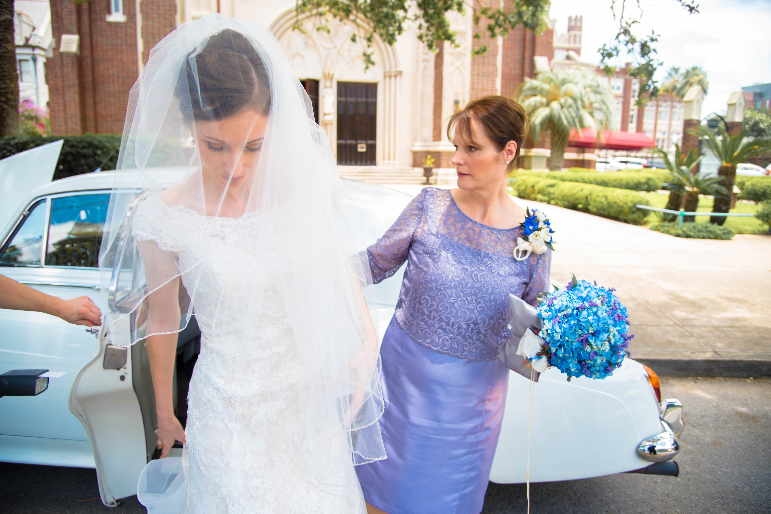 bride steps out of limo (1 of 1).jpg
