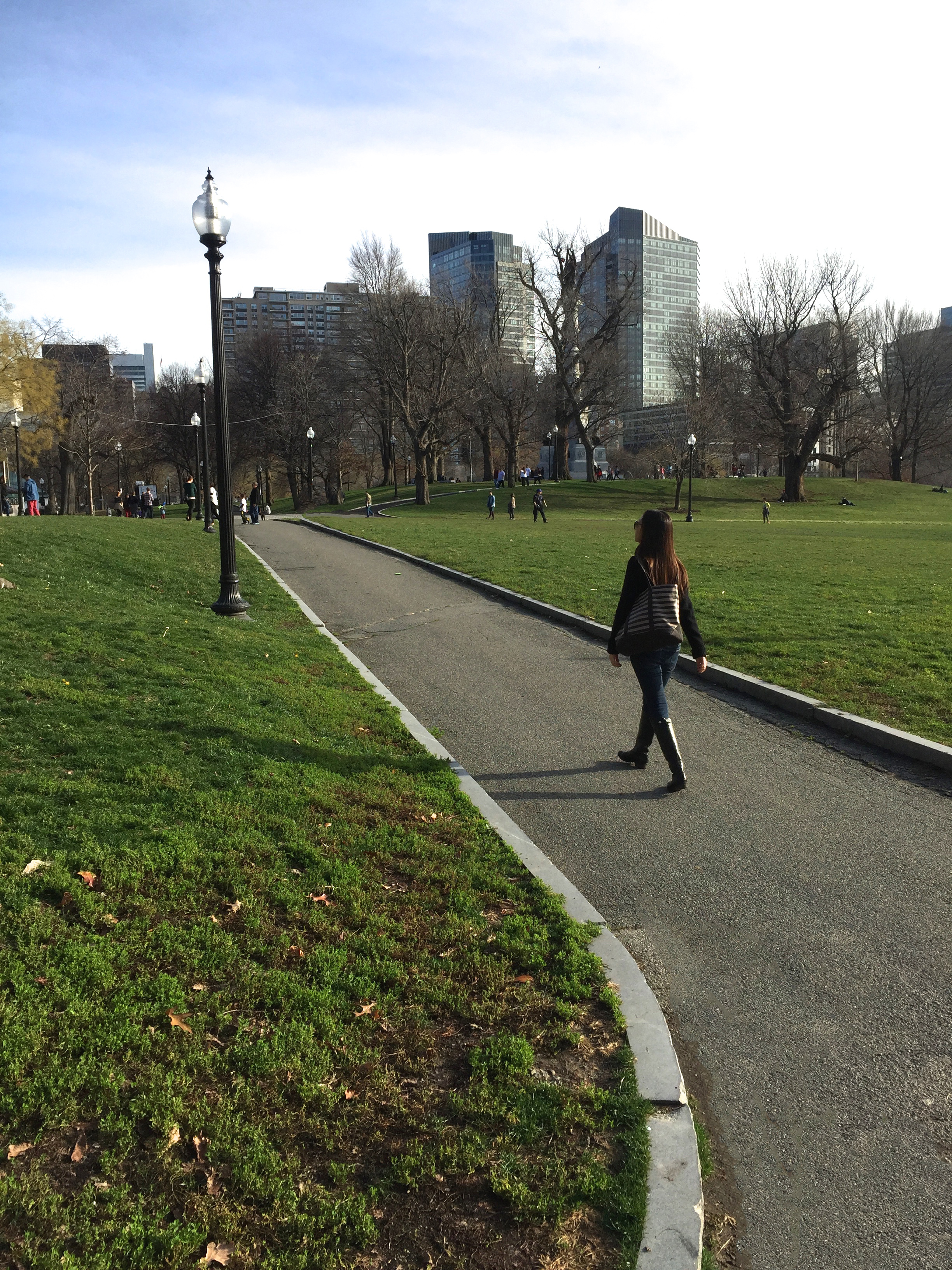 Afternoon strolls at Boston Common 🍃