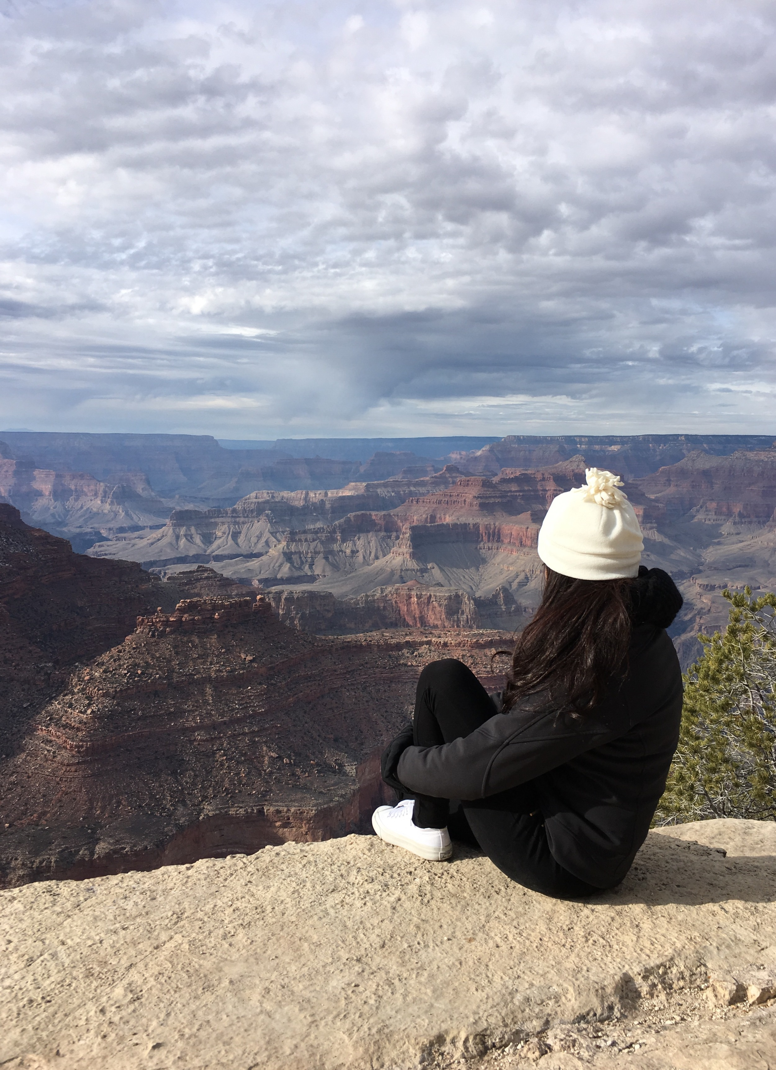 There is nothing more humbling than seeing the grandness of the Grand Canyon for yourself. It definitely makes you feel quite small. When you take the time to stop and see the beauty there is in nature it makes you appreciate how great this world can be.