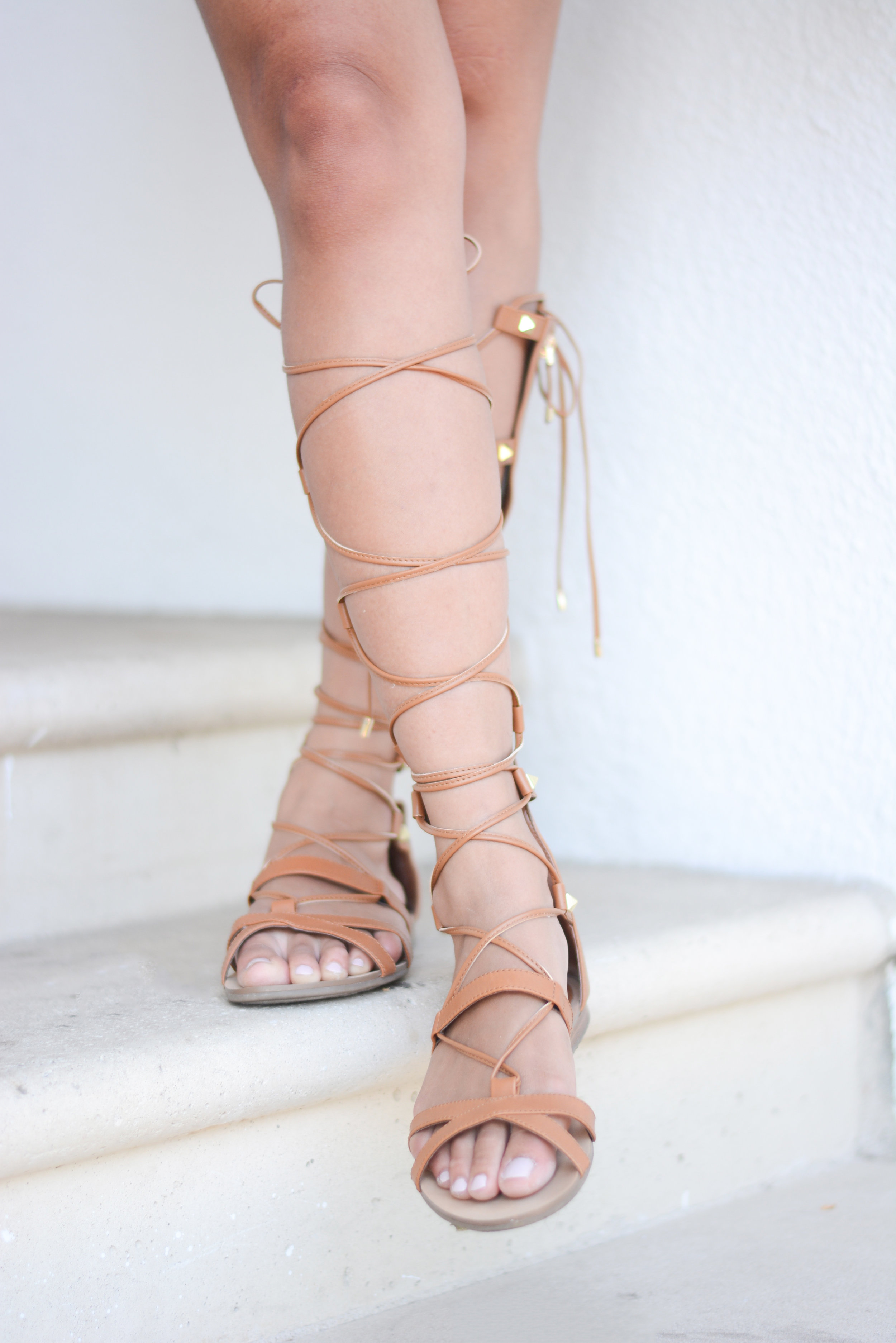 Speaking of deals! Check out the links below to shop our new obsession. Our lace-up sandals were some items we recently picked up and not only are they cute, they're affordable.