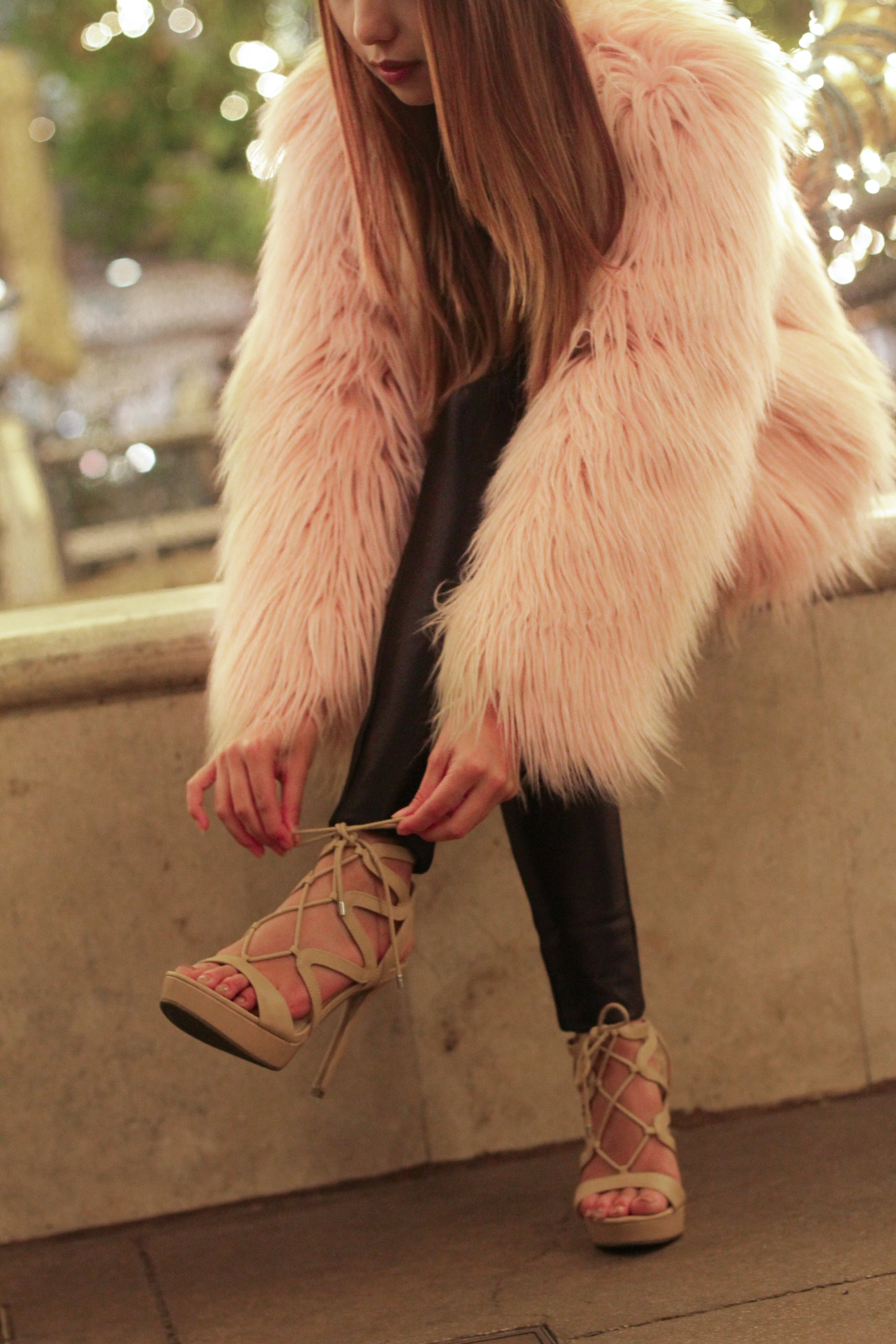 No matter what you wear lace up heels with, they make your look instantly sultry. #YouNeedOneNow