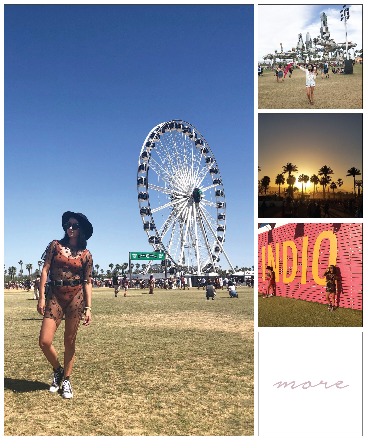 Finally had the opportunity to go to Coachella, thanks to bae 👩‍❤️‍💋‍👨We went with a large group of friends, which made the experience that much more fun!