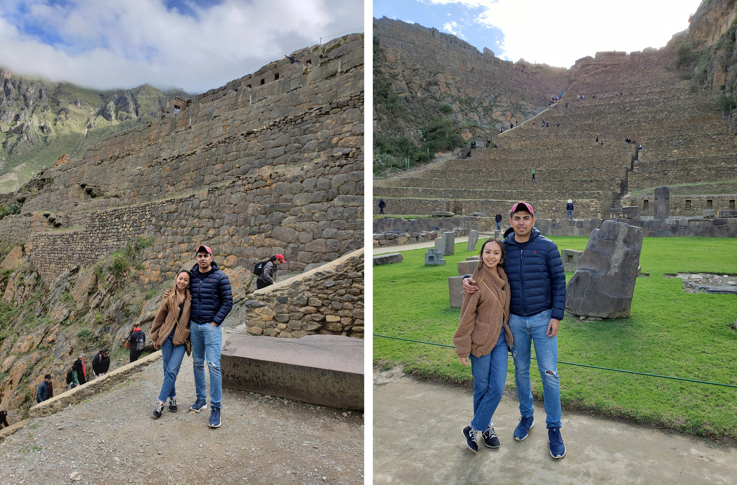 Lastly we went to Ollantaytambo, which served as a fortress for the Incas. It's quite a flight of stairs, however the rock structures you find at the top are impressive. Everything is built from singular rocks, that were smoothened, sharpened and perfected to fit each other. It's like a perfect puzzle, the precision is truly amazing and no one really knows how they managed to do this. Some people say it was 👽who made them hahaha.