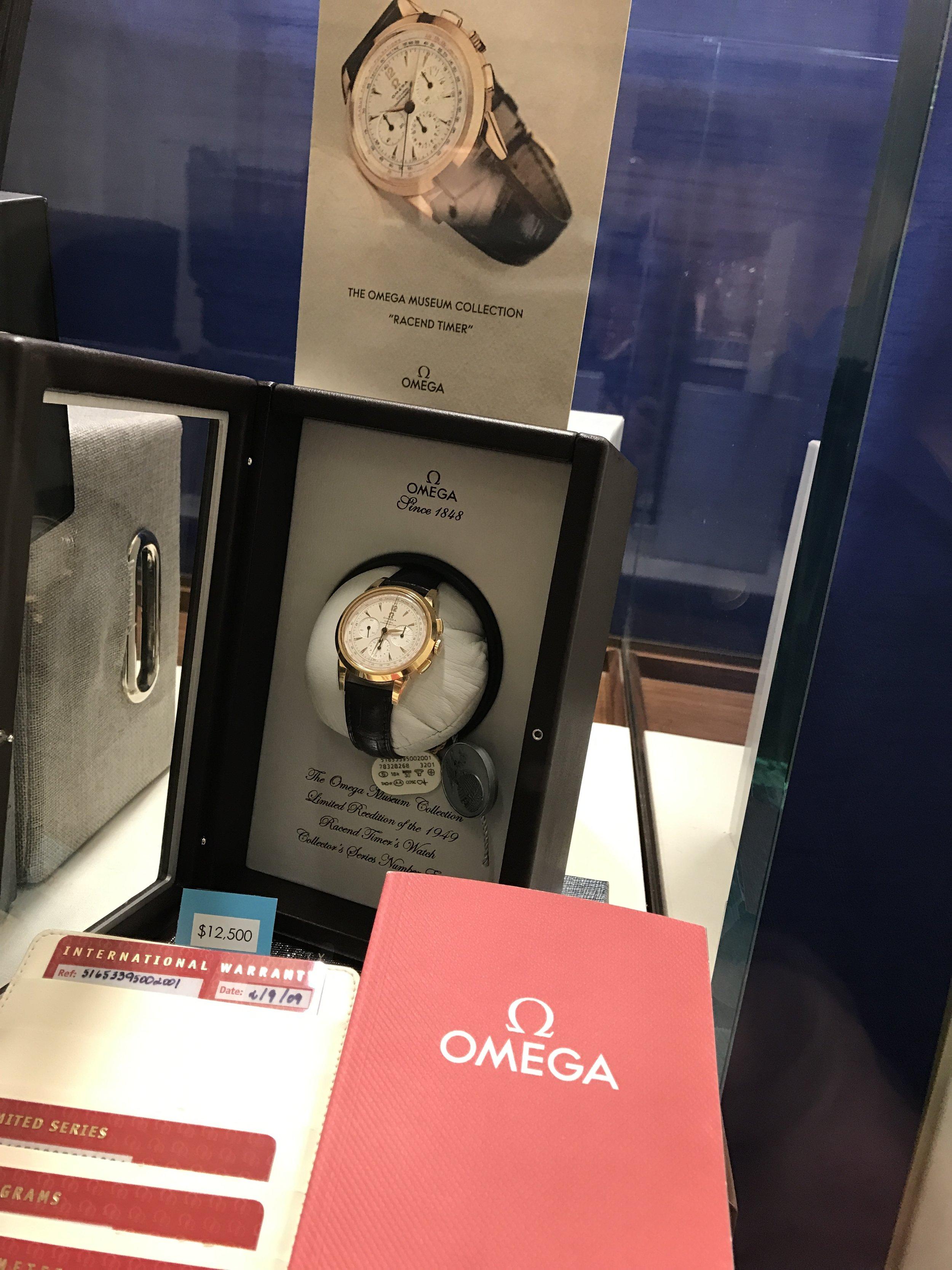 Omega Museum manual wind.