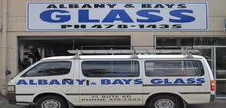 The former Albany & Bays Glass