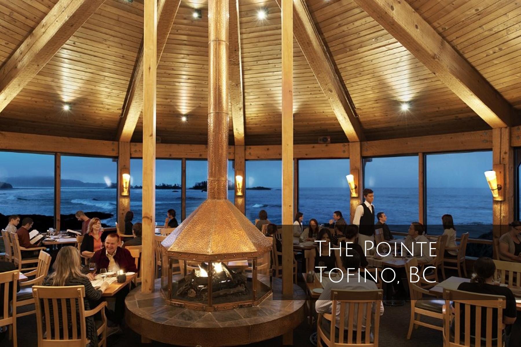 Unsworth Wine at the Pointe restauarant Wickaninnish Tofino BC