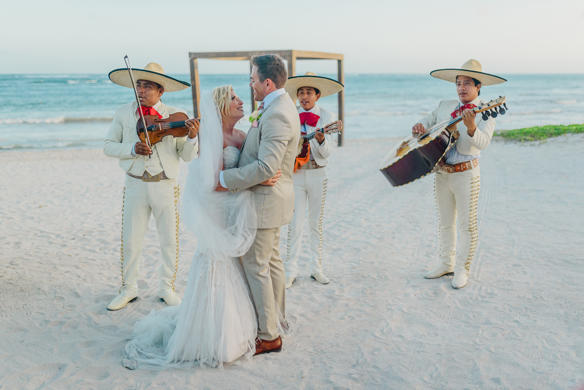 Ashley + Carl (Dreams Resort & Spa  - Tulum)