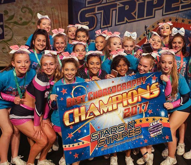 Way to go SMCAD!! 👏#cuastars #cheer #choreography #champions