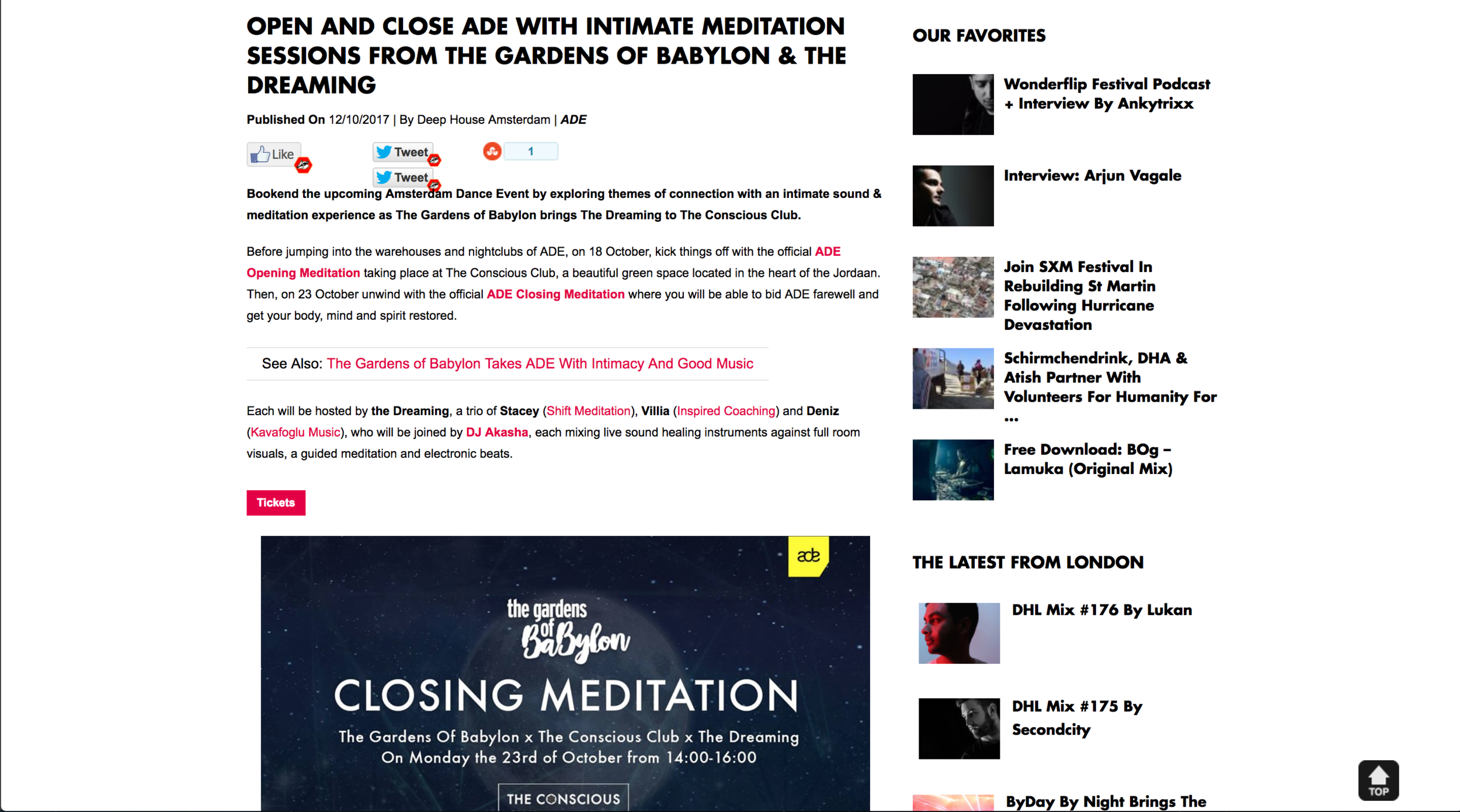http://www.deephouseamsterdam.com/ade-2017-open-close-meditation-conscious-club/