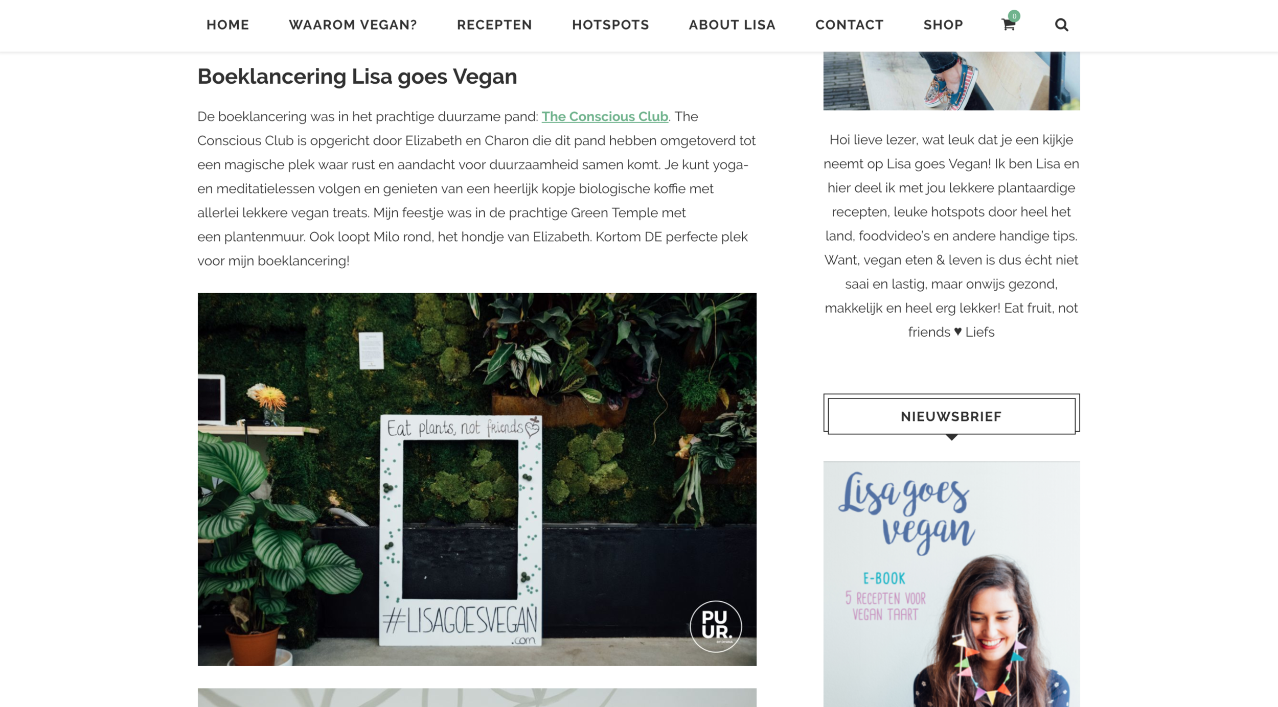 https://lisagoesvegan.com/boeklancering-lisa-goes-vegan/