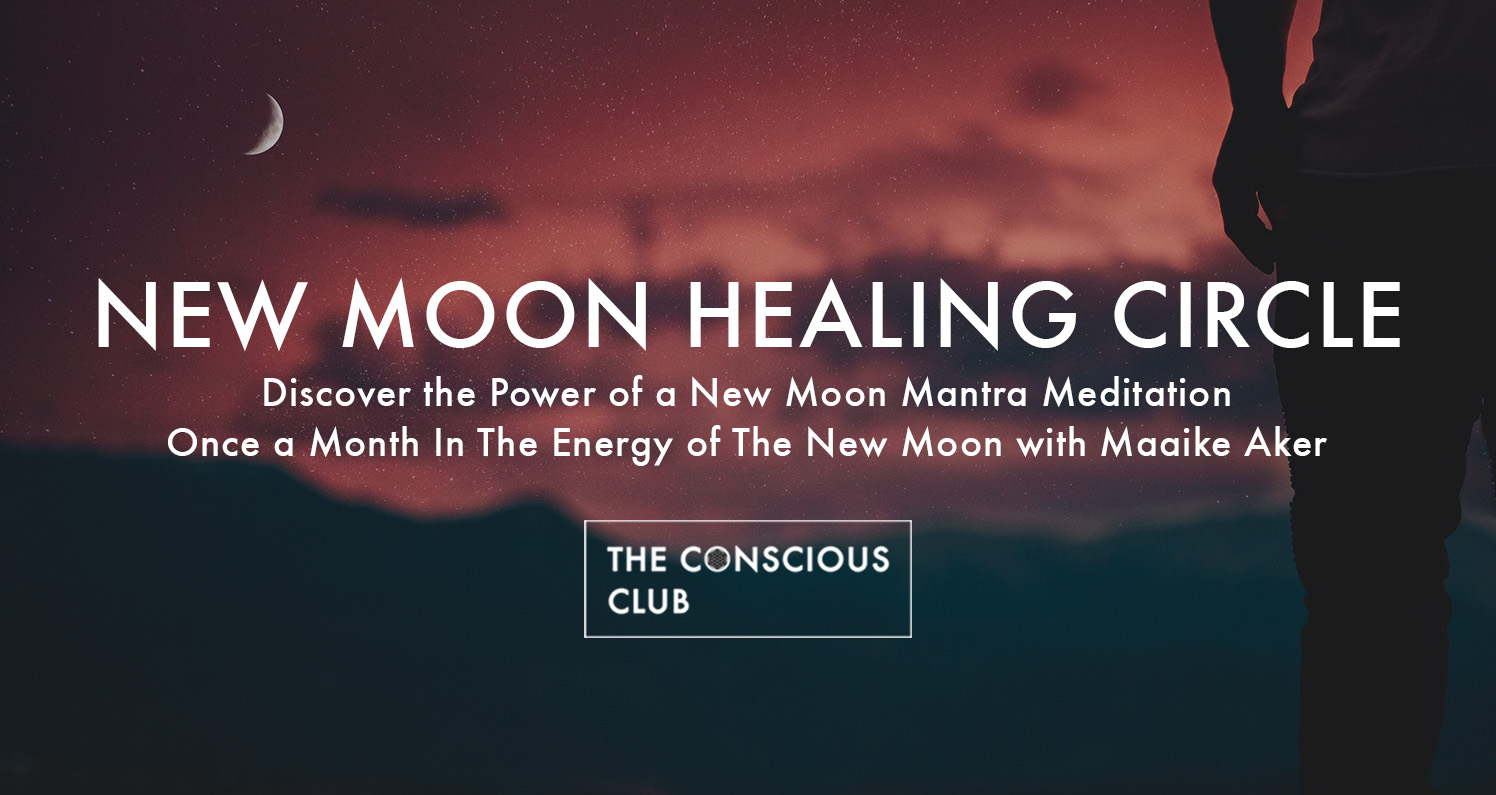 new moon healing circle the conscious club