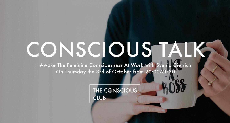 conscious talk october the conscious club