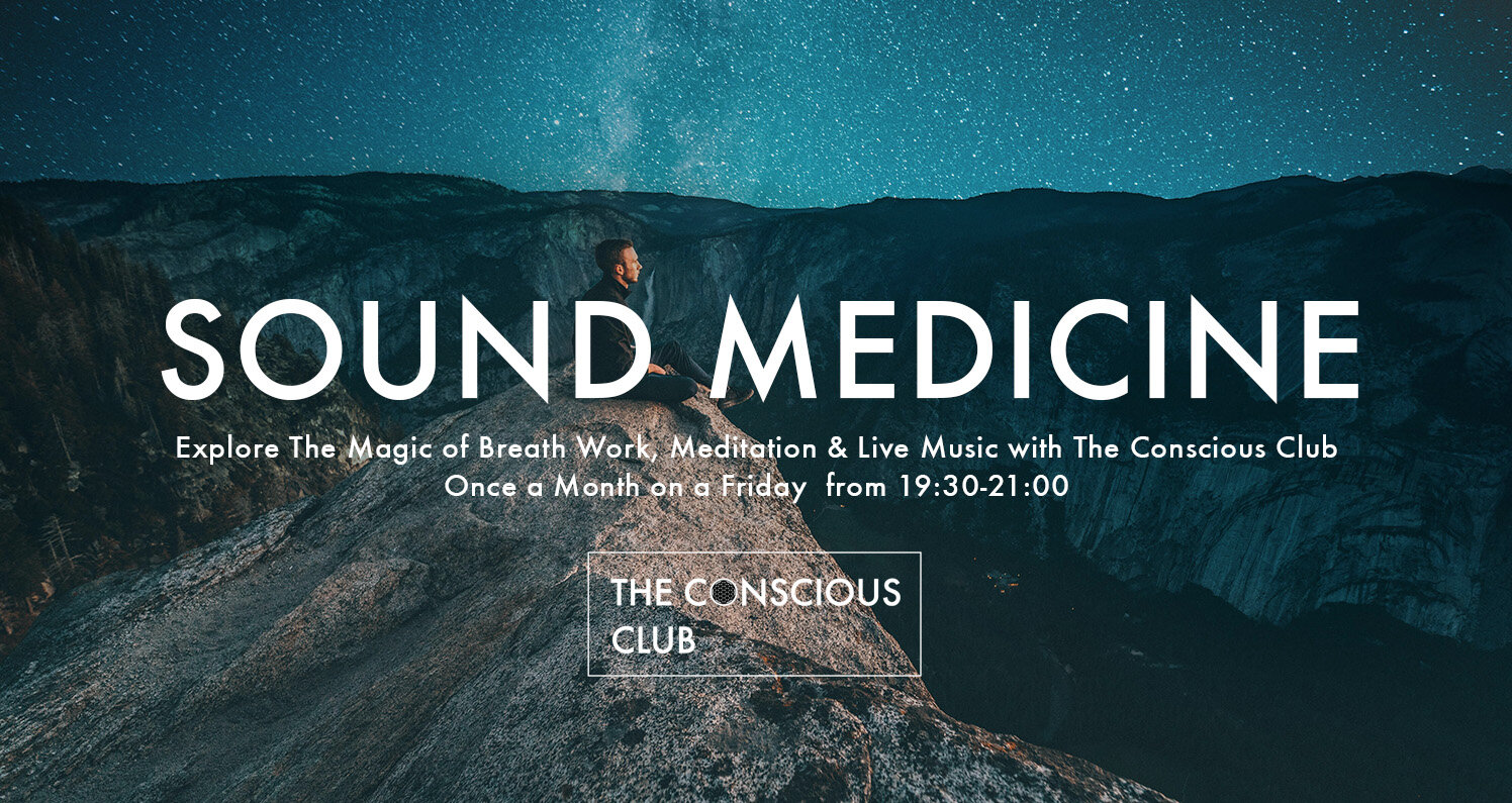 Discover the healing medicine of sound, breath work and meditation. We have invited  Rein Sarink , Barbara Falorni,  Laura Lotti ,  Ton Akkermans  and  Carolina Schomper  to take you on different medicine journeys. Every journey will be unique, there will be breath work, meditation, some storytelling and live music with ancient instruments.