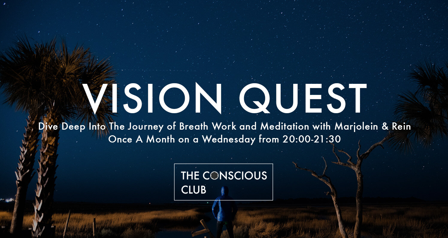 A perfect way to get started with the Wim Hof technique is our monthly  Vision Quest ๑ Wim Hof Breath Work & Deep Relax Meditation .  By combining the powerful breathing techniques with a restorative deep meditation, these sessions will give you an experience that you will remember for a long time!
