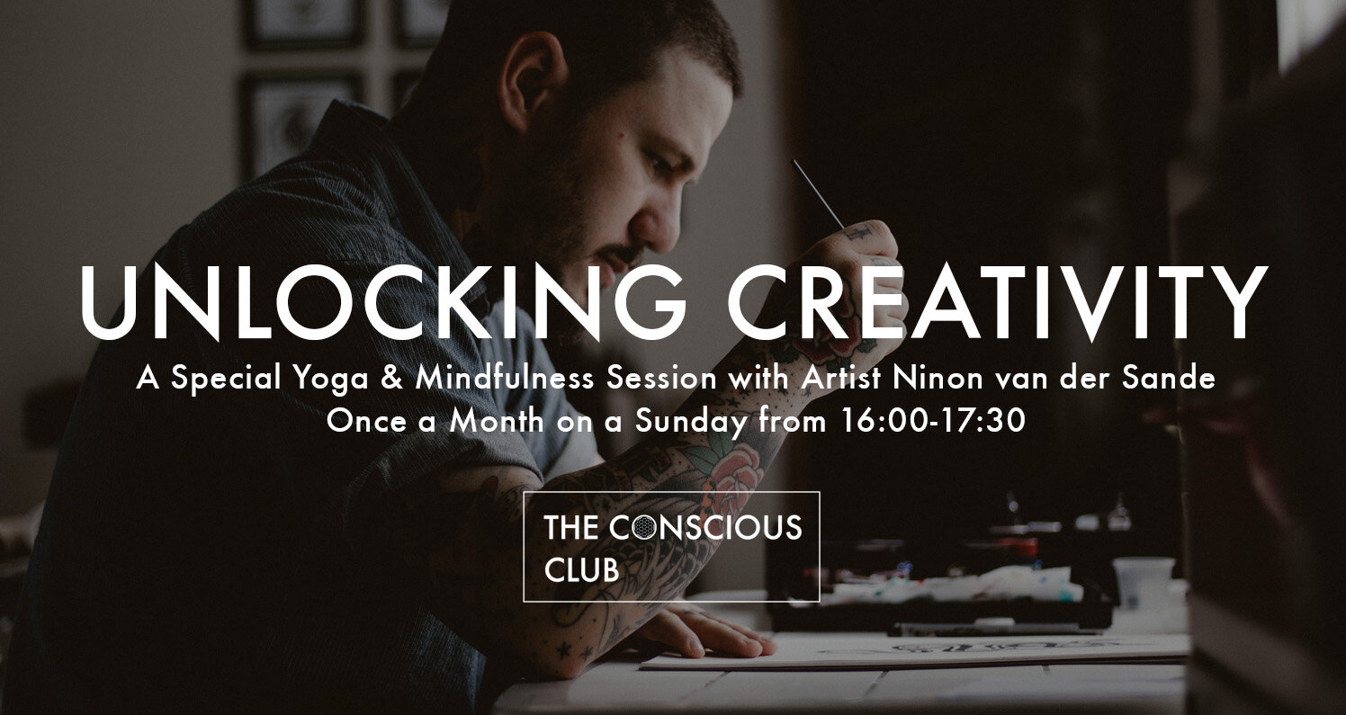 In this class you can free your own inner artist. By using several techniques -Tibetan Yoga, meditation and written exercises with paper and pencil -  Ninon van der Sande , a professional artist, will inspire you to experience your creativity in completely new ways.