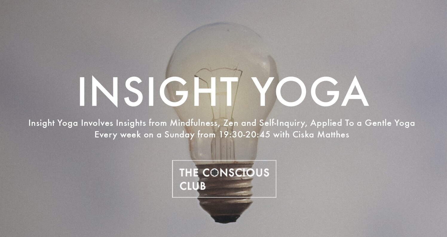 insight yoga the conscious club