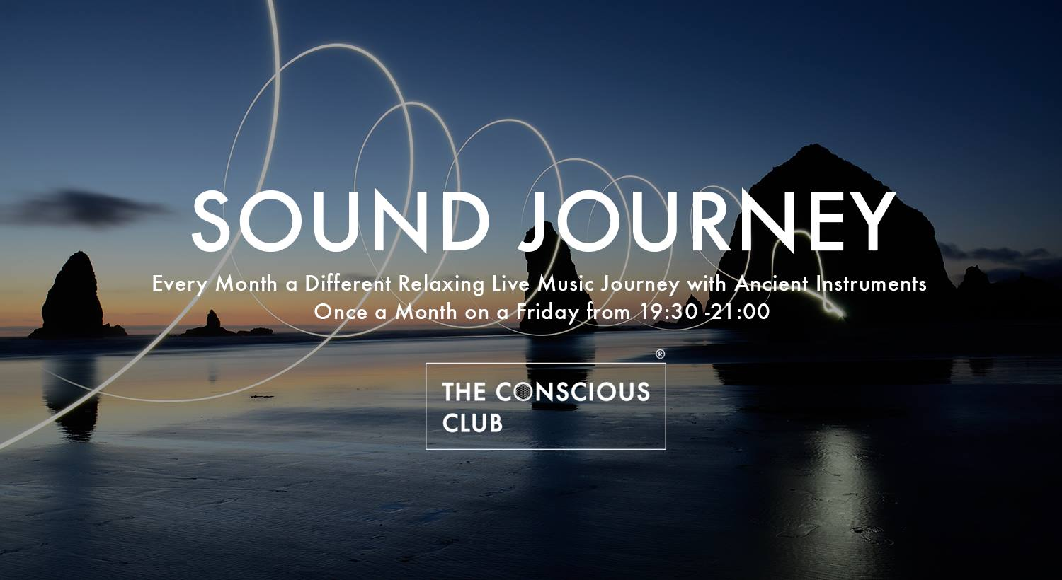We have invited  Eline Louise ,  Thomas Kwakernaat  and  Ton Akkermans  &  Carolina Schomper  to take you on unique journeys to surrender to the harmonic vibrations of the music while restoring your body, mind, and spirit.