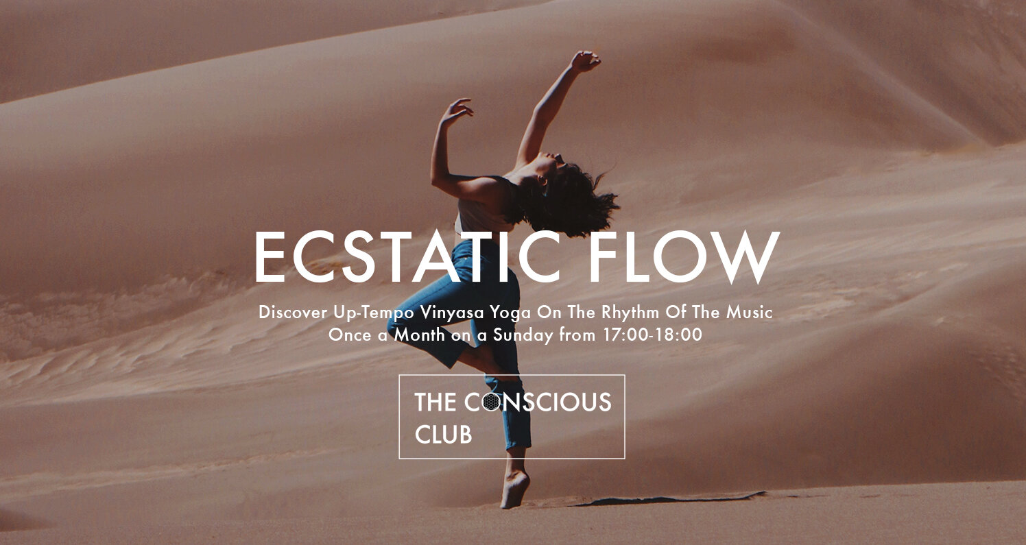 Ecstatic Flow ๑ A Dynamic Yoga And Live Music Practice The Conscious Club