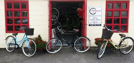 The Bike Doc Shop in Shannon - Visit our store to find deals that are too good to miss, we order from the best suppliers and can offer great advice on bike's and accessories helping you find the best choice to fit your goals and budget.