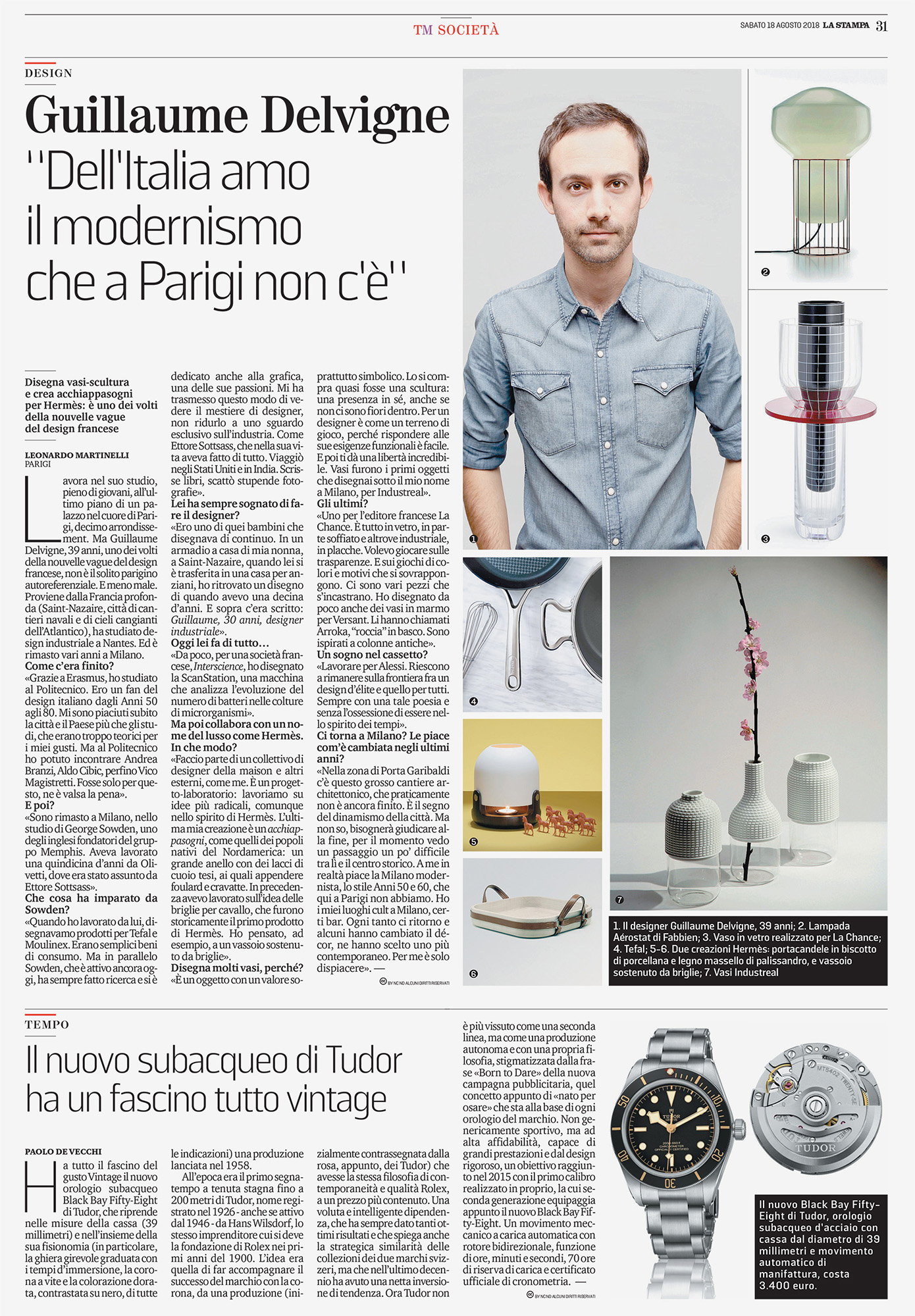 La Stampa / Italy / 2018.08