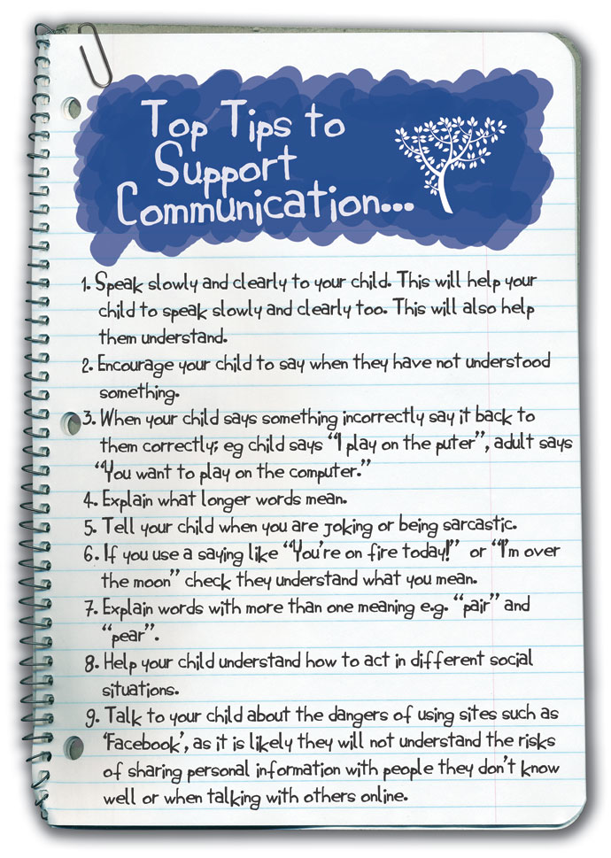 Top Tips for Communication