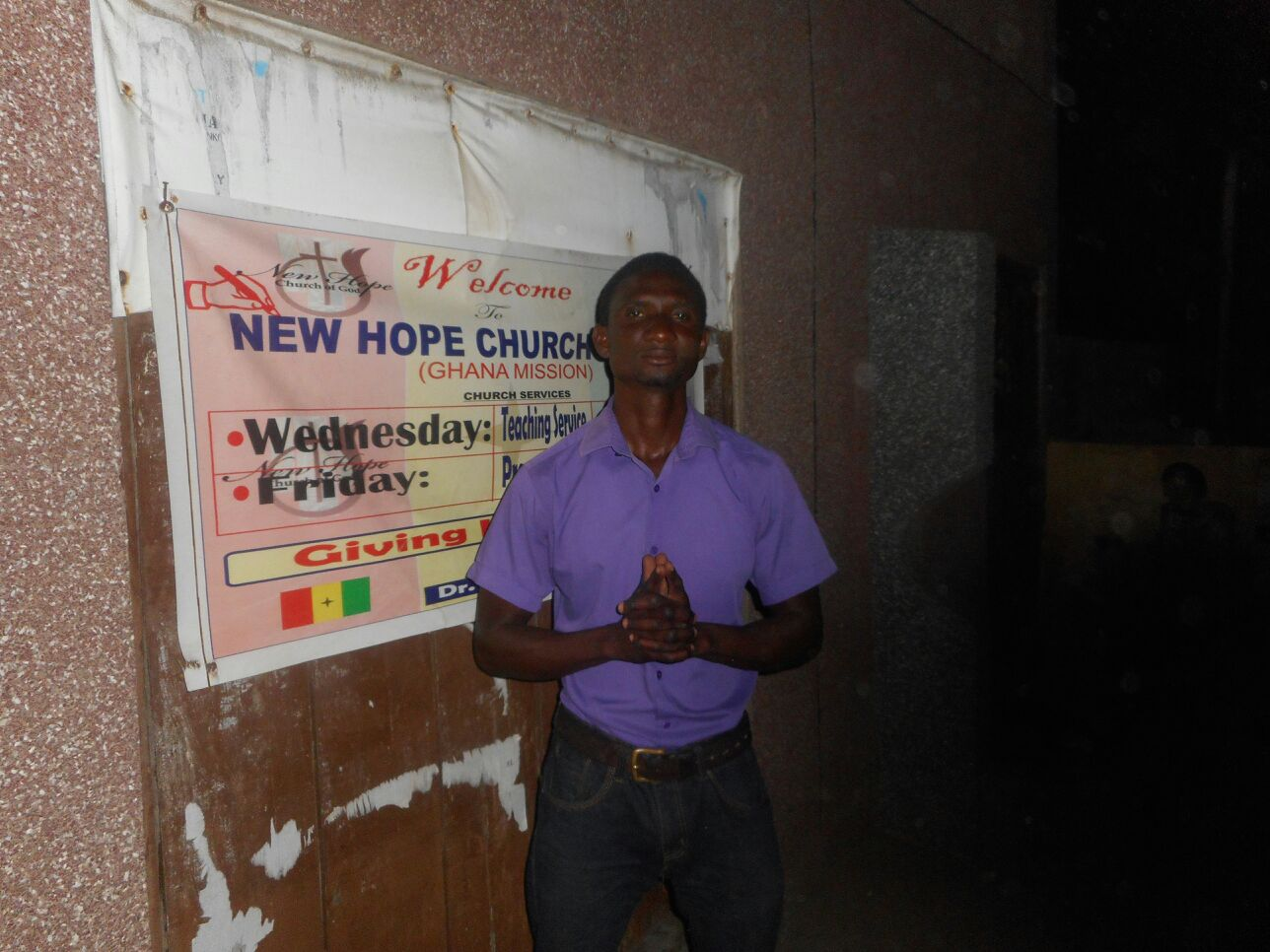New Hope Ghana Leader