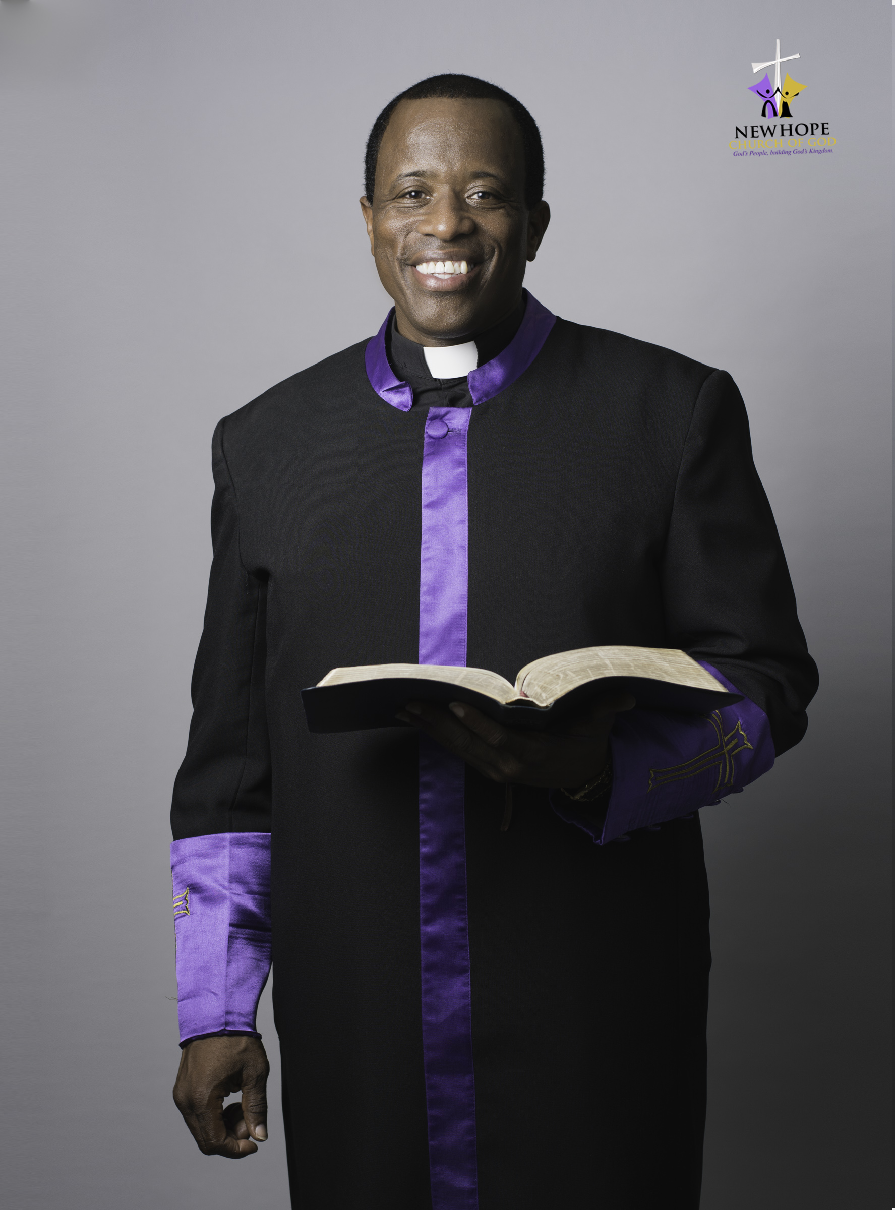 Pastor Aaron Jones,  Senior Pastor